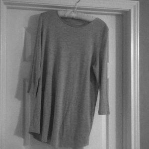 Grey, 3/4 length sleeve tunic